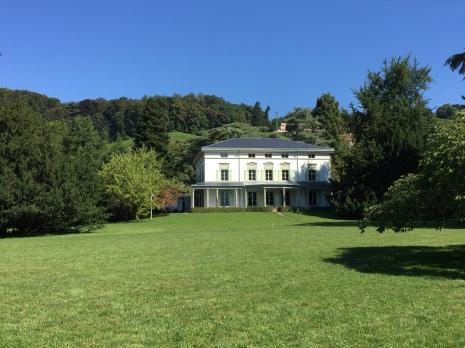 Le manoir de Charlot à Corsier-sur-Vevey